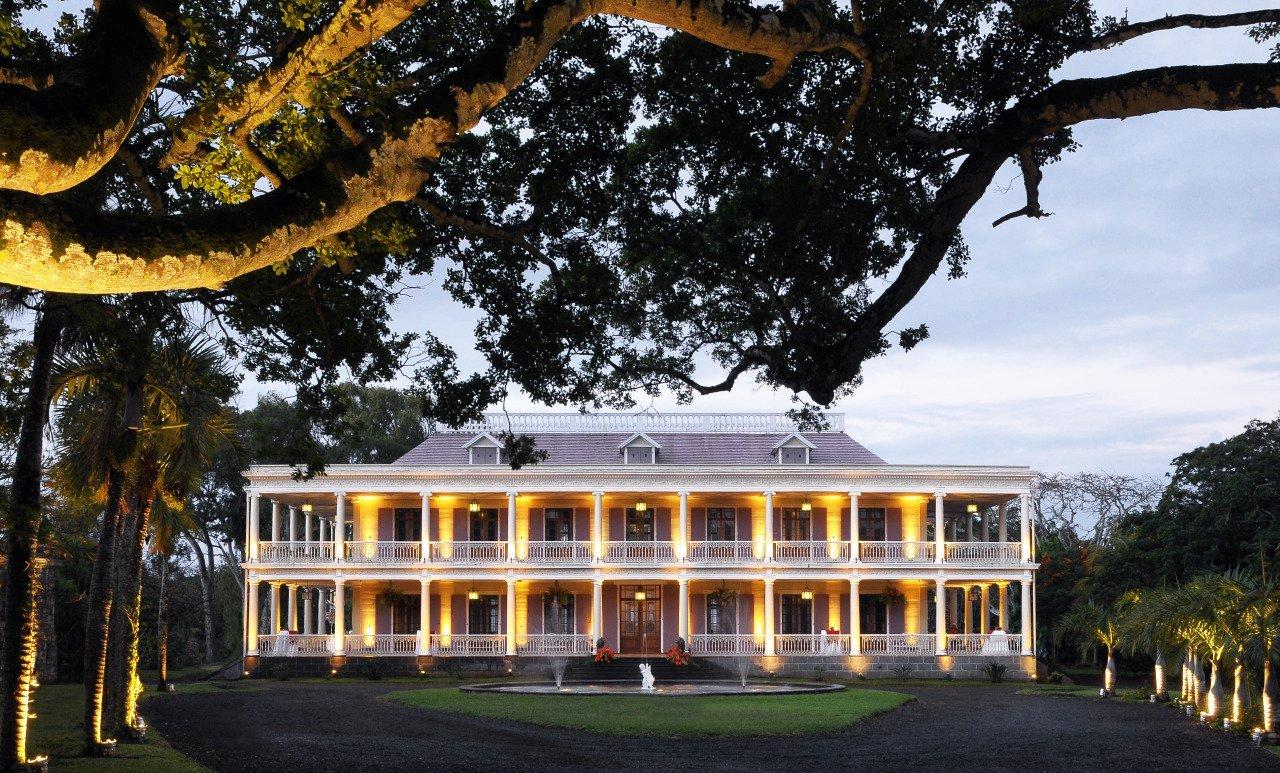 Villa Île Maurice château de Labourdonnais