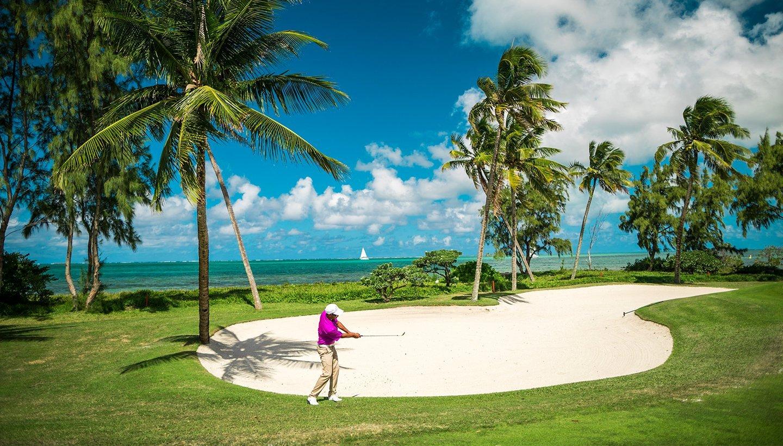 Villa Île Maurice parcours de Golf