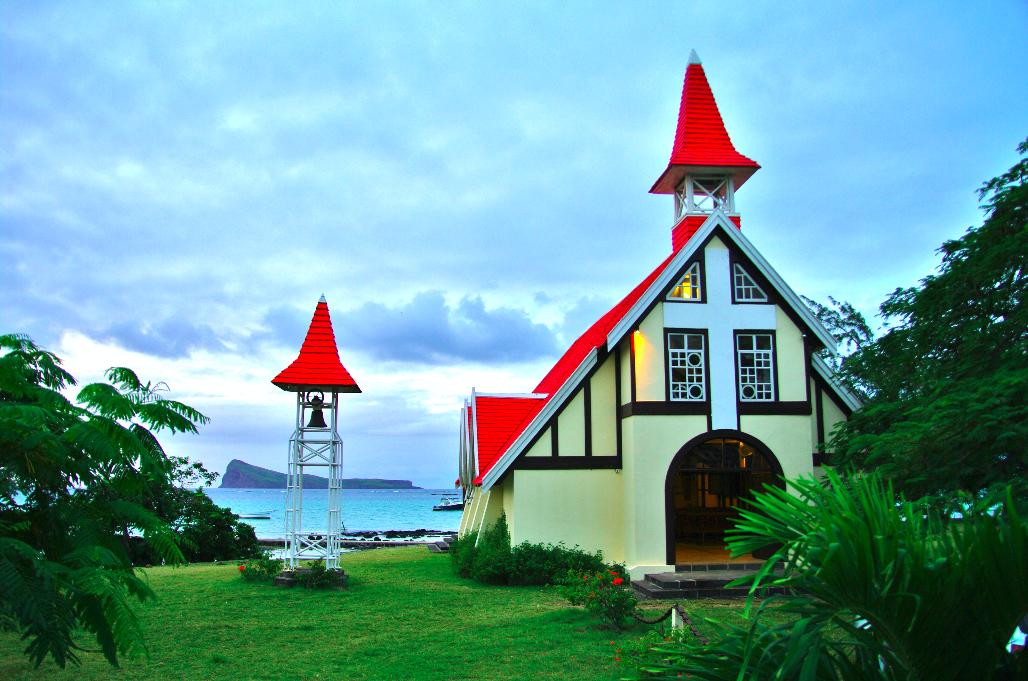 Villa île Maurice église Notre Dame Auxiliatrice